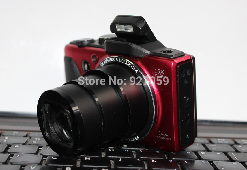 Free Shipping G100 Universal 15x optical zoom 15 million-pixel high-definition camera photography brands of digital cameras(China (Mainland))