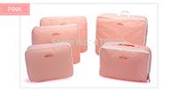Free & Drop Shipping! 5PCS/Lot Traveling Bag in Bag Fashional Nylon Clothes Underwear Luggage Organizer Bag