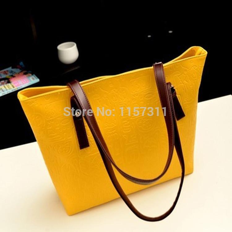 2014 Top Fasion Freeshipping Medium(30-50cm) Cell Phone Pocket Women Handbags Bolsas Femininas An Di Wei New Shoulder Bag Women(China (Mainland))