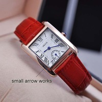 JW231 KEZZI K-839 Double Japan Quartz Movement High Quality Watch  PU Leather 18K Gold Plated Watch With Roman Numerals