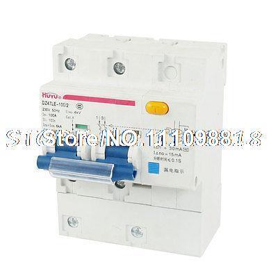 dz47-100 100 ampères 4000v 6000a ac capacidade de quebra disjuntor 3 pólos(China (Mainland))