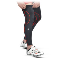 New Arrival 2014 Cheji black red Color cycling leg warmer High elastic Bike Leg Sleeve  Bicycle Accessories