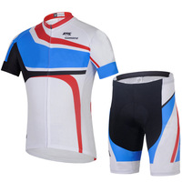 Summer cycling jersey 2014 Men ropa ciclismo CUBE Cycling Clothing Fox Short-sleeve+Shorts Set CYCS7736