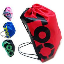 Бренд T90 сумки новая школа шнурок хранения сумка спорт плавать танец обуви походы рюкзак спортивный костюм для мужчин и женщин CW0001