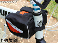 20313 TECHKIN triangle hypotenuse between bicycle saddle bag (with rain cover )