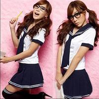 2014 New Hot Selling Women Cosplay Custome/Japanese Style Sweet School Girl Uniform Dress Women/Sexy Fancy Uniform Women