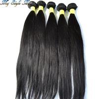 "Virgin Peruvian Hair Straight Bundles 8"" 10"" 12""14""16""18""20""22""24""26""28""30""32""34""36"" 100g/pieces Wholesale 10pcs lot Hair Weave"