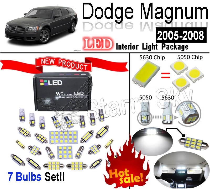 Лампа для чтения William LED 7 SMD Dodge Magnum лампа для чтения william led 18 smd audi c6 a6 s6