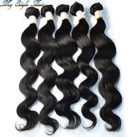 "Wholesale Grade 4A Mongolian virgin hair body wave 10pcs lot 100% Unprocessed human hair extension 10""-36"",Factory Price on sale"