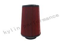 KYLIN STORE ---  HOTSALE Universal 76mm and 240mm height Cold Air Intake Air Filter
