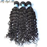Rosa virgin mongolian tight curly hair 5pcs or 4pcs lot mongolian afro kinky curly virgin hair extension,Unprocessed human hair