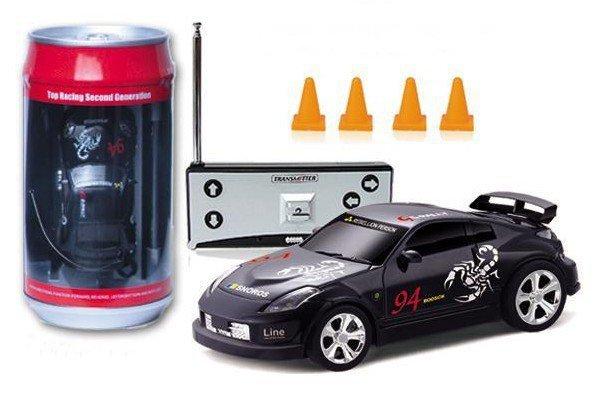 WITH TRACKIN G NUMBER Coke car Magic Touring rc car RTR - MODEL mini racing car 1:63 scale Coke Can rc mini car Radio Control(China (Mainland))