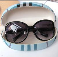 Special grid glasses box Glasses Case Fashion Sunglasses Case Women Men Spectacles Cases