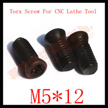 50pcs M5 x12  Insert Torx Screw for Replaces Carbide Inserts CNC Lathe Tool