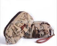 2014 Leisure cartoon single shoulder bag woven bag free shipping