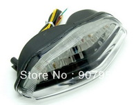 Motorcycle LED Tail Light Turn Signal Clear For Suzuki 2004-09 DL650 DL1000 V-Strom