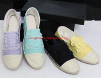 2014 New Spring / Autumn Women Flats Slip-On Adult canvas women espadrilles denim shoes Casual Dress Ballet Flat oxford shoes