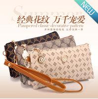 2014 Free shipping new fashion women's day clutches cross-body bag women messenger bags small long design women handbag