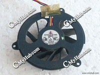 Used Cooling Fan For Acer TravelMate 430 Series SAM LAM CF0550-B10M-E003  DC5V 0.25A Bare Fan  3 wire 3-pin connector