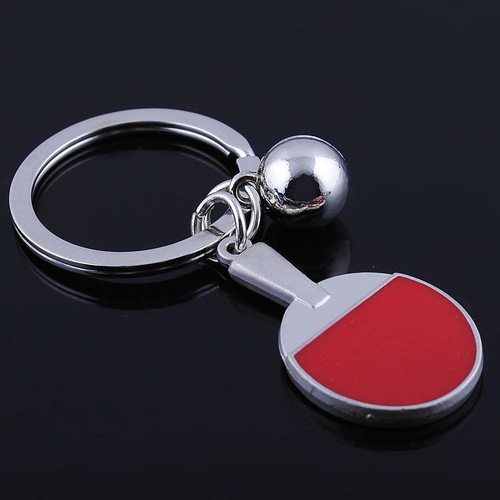 Fashion table tennis world cup 2014 spin key chain keychain key ring men jewelry car keychain creative gift key finder HD67(China (Mainland))