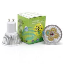 Wholesale-5pcs/lot 12W GU10 LED Spot Light LED Bulb lamps Warm White/Natural White/Cool White 60Degree 110V/220V Free Shipping(China (Mainland))