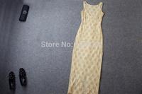 2014 brand new women's spring summer fashion wear European top brand fashion  top end dress elegance party dress T18117