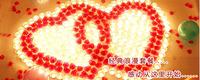 Hot sale petal Multicolour Wedding Flowers Ball Wedding Decoration Flower DIY ROSE  50pcs/Lot Free Shipping 40 kinds