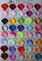 New Arrival DIY ROSE petal  Multicolour  Wedding Flowers Ball Wedding Decoration Flower 50pcs/Lot Free Shipping 40 kinds