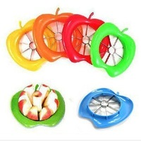 Mini order $10 Kitchenware Factory direct fruit slicer apple slicer knife large stainless steel apple fruit cutter