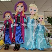 38-50cm Plush Frozen Elsa Doll Toys Soft Princess Anna Cloth Brinquedos Kids Dolls for Girls stuffed toy