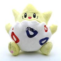 New 2014 Togepi 1pcs 8'' 18cm Pokemon Plush Toy plush Cute Soft Stuffed Animal Doll baby & Kid Gift brinquedo