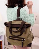 women backpack canvas shoulder bag multi-purpose more color kanken mochilas