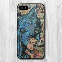 Retro Vintage Batman Comic Book Protective Cover Case For iPhone 5 5S 4 4S 5C TC1517