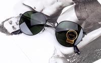 3447 Retro Metal Round Prince Sunglasses Men Designer Steampunk Outdoor Driving Glasses Circle Women 50 mm Oculos Original Box