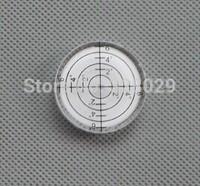 New 2014 2pcs Multipurpose Spirit Level Horizon Level Vial Bubble Universal Level White Color Free shipping 32mm
