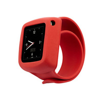 2014 Protective Wrist Watch Strap band for Apple iPod Nano 6 (6th Gen.) red /green/purple freeshipping