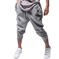 New 2014 drop crotch pants men fashion sport outdoors mens cargo ,hip hop harem pants thermal sweatpants,trousers man