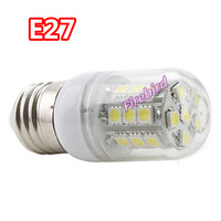 50 x E27/ E14/ G9 5W high power led corn bulb with transparent cover, bedroom lights or table lamp, AC220V or AC110V