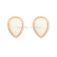 Fashion vintage drop all-match brief stud earring all-match summer women earrings female stud earring America popular design