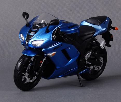 Alloy 1:12 Limited edition Kawasaki Ninja ZX-6R Motorcycle models(China (Mainland))