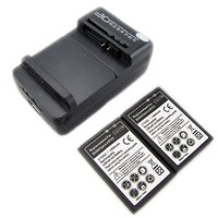 New 2x 1800mAh BA600 Rechargeable Battery +Charger For Sony Ericsson Xperia U,ST25i SonyEricsson