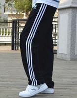 Freeship Hot Sale 2014 New Fashion Sports Brand Multi-color Pants. Summer Stripe Pants Male Outdoor Sport. Wasit Loose Pants Men