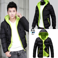 2014Men's clothing base male wadded jacket outerwear winter thickening cotton-padded jacket male cotton-padded jacket coat