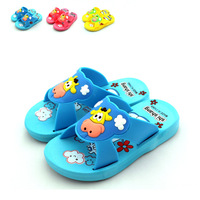 Cartoon Wear-resisting Non-slip Sandals, Candy colored children beach slippers, Baby Garden shoes, Casual Home Furnishing shoes