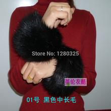 Fashion Design Mink hair wool cuff oversleeps hand ring fur bracelet wrist support fur cuff hand ring fox fur(China (Mainland))