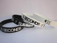 5 SOS wristband,5 SECONDS of SUMMER wristband,silicone bracelet,custom design,promotion gift,100pcs/lot,free shipipng