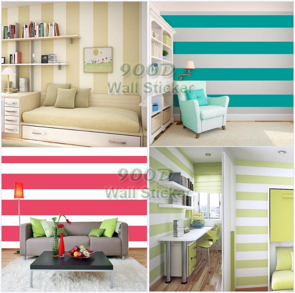 Stripes Decals For Walls Stripe Wall Sticker
