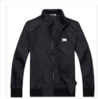 Free shipping 2014 new men's fashion men's casual jacket collar cardigan jacket Korean Slim thin section cotton coat jacket