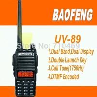 DHL Freeshipping+2 pcs/pair baofeng walkie talkie baofeng uv 82 handheld dual-band uhf vhf radio station portable ham radio uv82
