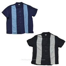 Merona Mens Charlie Sheen Style Cuban Button Down Bowling Shirt S-XXL 60%-rayon 40% polyester(China (Mainland))